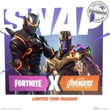Thanos brings the Infinity War to Fortnite