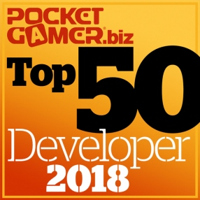 The Top 50 Mobile Game Developers of 2018