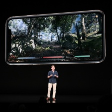 Bethesda's Todd Howard shows off Elder Scrolls: Blades gameplay at Apple's iPhone event