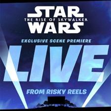 Star Wars: The Rise of Skywalker new scene dropping in Fortnite