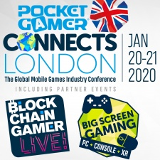 Special thank you to the sponsors for next week's Pocket Gamer Connects London