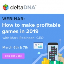 Join deltaDNA's free webinar on how to make profitable games in 2019