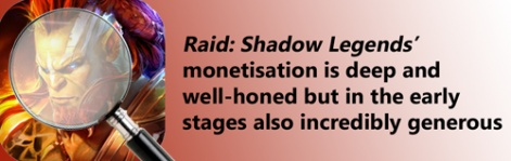 How does Raid: Shadow Legends monetise? | Pocket Gamer biz | PGbiz