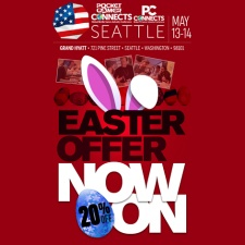 One SWEET Easter offer - 20% off ticket prices for Pocket Gamer Connects Seattle