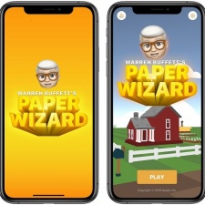 Apple co-develops first game in over a decade with Warren Buffett's Paper Wizard