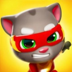 Talking Tom Hero Dash logo