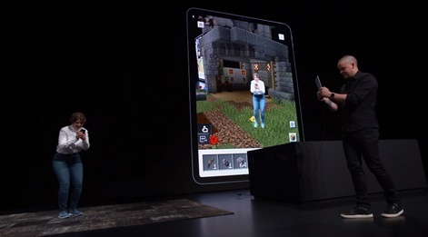 Minecraft Earth takes centre stage at Apple's WWDC | Pocket Gamer