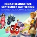 IGDA Helsinki Hub gathers games developers this September