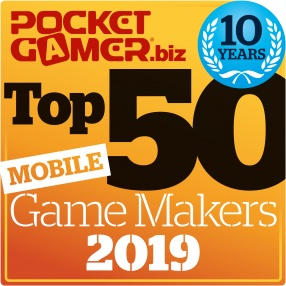The Top 50 Mobile Game Makers of 2019