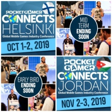 Last chance to save on tickets for Pocket Gamer Connects Helsinki and Pocket Gamer Connects Jordan