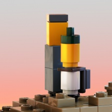 Building an artistic game out of tiny bricks: The making of LEGO Builder's Journey