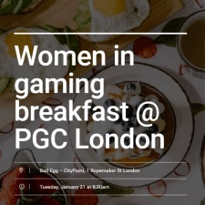 Women in Gaming Breakfast @ PGC London returns for a second year in 2020