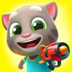 Talking Tom: Blast Park logo