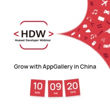Discover how to break into China's app market with the Huawei Developer Webinar on November 9th