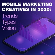 Mobile marketing creatives in 2020: trends, types, visions