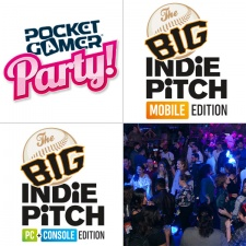 The Big Indie Pitch and Pocket Gamer Party lands in San Francisco next month