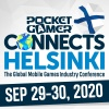 Speak at the seventh Pocket Gamer Connects Helsinki this September
