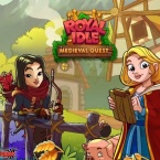 Royal Idle: Medieval Quest logo