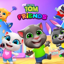 My Talking Tom Friends hits 100 million downloads as the franchise celebrates its 10th anniversary