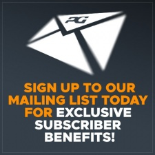 SIGN UP to our Exclusive Events Email Bulletin