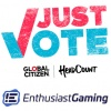 Enthusiast Gaming teams with Global Citizen and HeadCount to encourage young Americans to vote