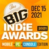 Nominate your team or game for The Big Indie Awards 2021