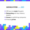 GOING HYPER WINTER 2021: Online Hyper Casual Game Jam goes live this week