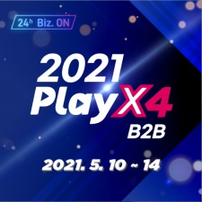 Korean B2B gaming event PlayX4 to take place online on 10th - 14th May