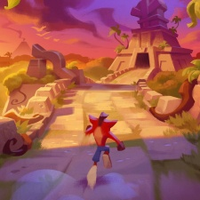 """Crash Bandicoot N. Sane Trilogy was """"too detailed and noisy to work on the small mobile screen,"""" says King"""