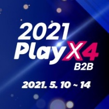 Korea's best 24-hour gaming business event PlayX4 2021 runs 10-14 May