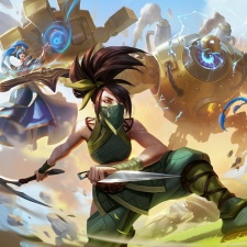 League of Legends animated series Arcane streaming on Netflix this fall
