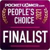 Has your game made the Pocket Gamer People's Choice Award 2021 finalists?
