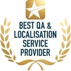 Best QA & Localisation Service Provider logo