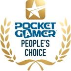 Pocket Gamer People's Choice logo