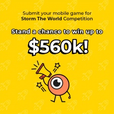 Storm The World competition opens for entries