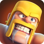Number 3 - Clash of Clans logo