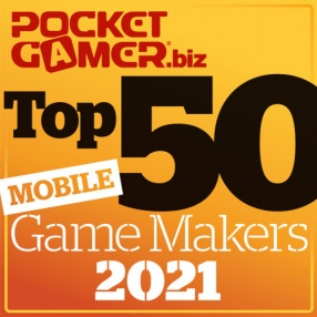 The Top 50 Mobile Game Makers of 2021