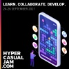 Hyper Casual Jam Com goes live on September 24th to 26th
