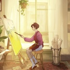 How Behind the Frame tells a story from the painter's eye